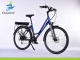 Electric City Bike Low Step-Through Frame Ebike for Sale