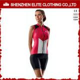 Wholesale China Made Women Sleeveless Cycling Jerseys