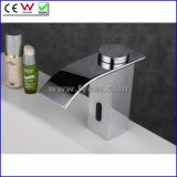 Fyeer Waterfall Cold Only Sensor Tap Automatic Basin Faucet (QH0128)