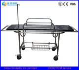 Best Sale China Stainless Steel Plain Hospital Stretcher