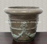 Fiberglass Composite Hand-Lay-up Flower-Pot