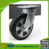 125/150/200/250mm Heavy Duty Rubber Swivel Castor