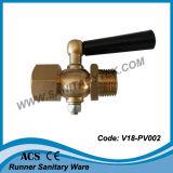 Brass Pressure Gauge Cock (V18-PV002)