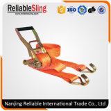 Customized Ratchet Tie Down Strap with Double J Hook