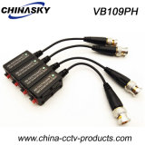 Connectable HD-Ahd/Cvi/Tvi Video Balun with Gold Plated BNC (VB109pH)