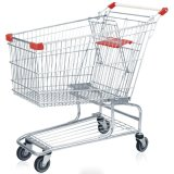 Factory Price Cargo Supermarket Cart Trolley with High Quality