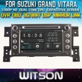 Witson Car DVD Player with GPS for Suzuki Grand Vitara 2005-2012 (W2-D8660X)