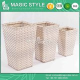 Rattan Flower Vase Flower Pot Wicker Furniture Rattan Basket Garden Vase