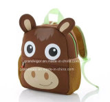 Polyester Cartoon School Trolley Backpack for Charity