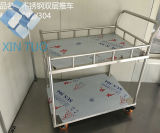 Medical Cheap Treatment Trolley with Drawers