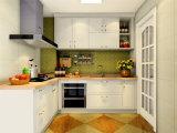 Modern High Gloss PVC Lacquer Kitchen Furniture