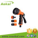 "1/2"" 4PCS Hose Repair Nozzle Set Adjustable Water Spray Gun"