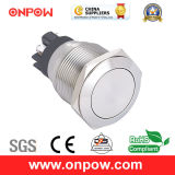 Onpow 22mm Metal Push Button Switch (GQ22L-11/S, CE, CCC, RoHS)