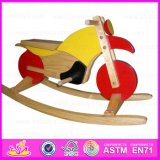 2015 High Quality Kids Rocking Horse Toy, Best Sale Hildren Wooden Rocking Horse Toy, Baby Product Wooden Rocking Horse Wj276724