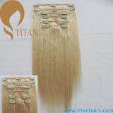 Virgin Human Remy Clip in Hair Extension (TT490)