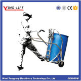 Hand Mechanical 304 Steel Drum Trolley