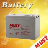 Must Fcg Matainance Free 12V 100ah 150ah 200ah 250ah Gel Solar Battery