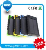Real Capacity 8000mAh Solar Charger Portable Mobile Phone Power Bank