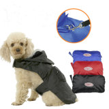Adjustable Zippered Folding Travel Dog Raincoat