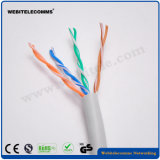 PVC U/UTP Cat5e Unshielded LAN Cable for Network Using