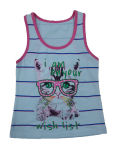 Fashion Kids Girl Vest in Children Clothes & Knit Vest with Cat (SV-012)