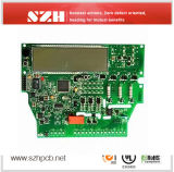 6 Layers 1mm 2oz Copper Green Solder Mask Control PCBA Board