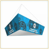 Tapered Triangular Hanging Banner Ceiling Suspended Sign Banner