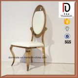 Hot Sale Golden High End Stainless Steel Dining Chair