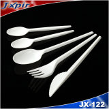 FDA Disposable Plastic Cutlery Clear Color