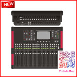 Audio Mixer with 24 Channels, USB Audio Interface, Built-in Effects, 20 Moving Faders, iPad Controllability, and Touchscreen