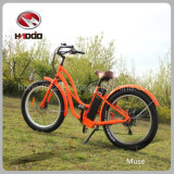 26′′48V 500W Fat Tire Electric Beach Motorcycle with Suspension