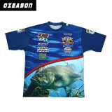 Sublimated Fishing Polo Shirts Fishing T Shirt