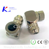 M12 Right Angle Male & Female Field Assembly Connectors