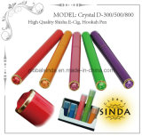 Dispasoble Ecig 300/500/800 Puffs Hookah Pen Shaped E Shisha