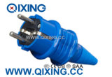 Cee 16A IP44 Blue Schuko Plug&Socket