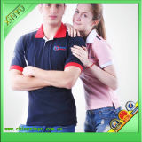 2016 Hot Sale Customized Design Couple Polo Shirt for USA
