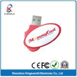 Promotional 2GB Plastic Swivel USB Memory Stick