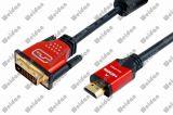 Premium HDMI to DVI (24+1) Cable, High Speed, 1080P