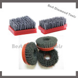 Frankfurt Rould Fickert Antique Diamond Abrasive Brushes for Granite Marble Stone Polishing