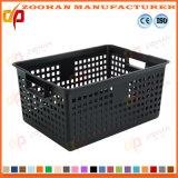 Supermarket Fruits and Vegetables Plastic Container Transport Turnover Basket (Zhtb12)