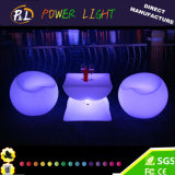 Color Changing Glow Illuminated Rechargeable LED Apple Sofa Chair