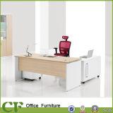 Melamine Panel Wood Office CEO Desk with Mobile Pedestal File