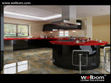 2015 Welbom Canada Style Lacquer MDF Kitchen Furniture