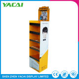 Custom Paper Exhibition Stand Cosmetic Display Rack for Speciality Stores
