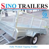 Cheap Best Selling Fully Welded Tipping Trailers
