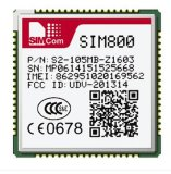 SIM800 Is a Complete Quad-Band GSM/GPRS Module