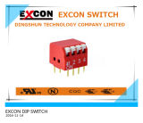RoHS Compliant 2 4 8 12 Pin Tri-State Mini Slide SMD SMT DIP Switch