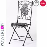 New Design Folding Black Patio Chair for Outdoor Furniture