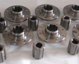 CNC Machining Threaded Rod with Nut