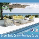 Hot Sale 5 PCS PE Rattan Sofa Garden Furniture S0246
